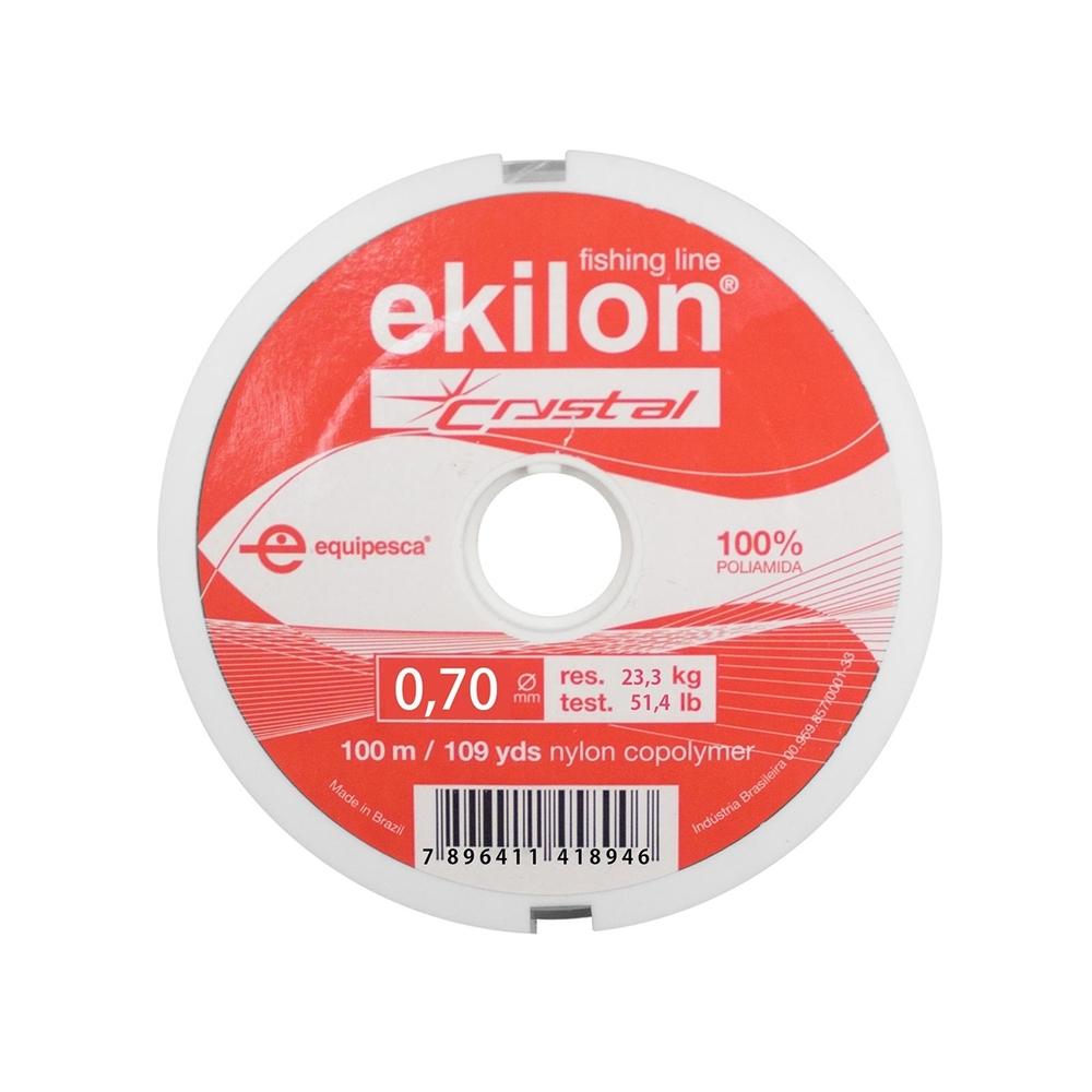 Linha de Nylon Ekilon 0,70mm  - Casa do Roadie