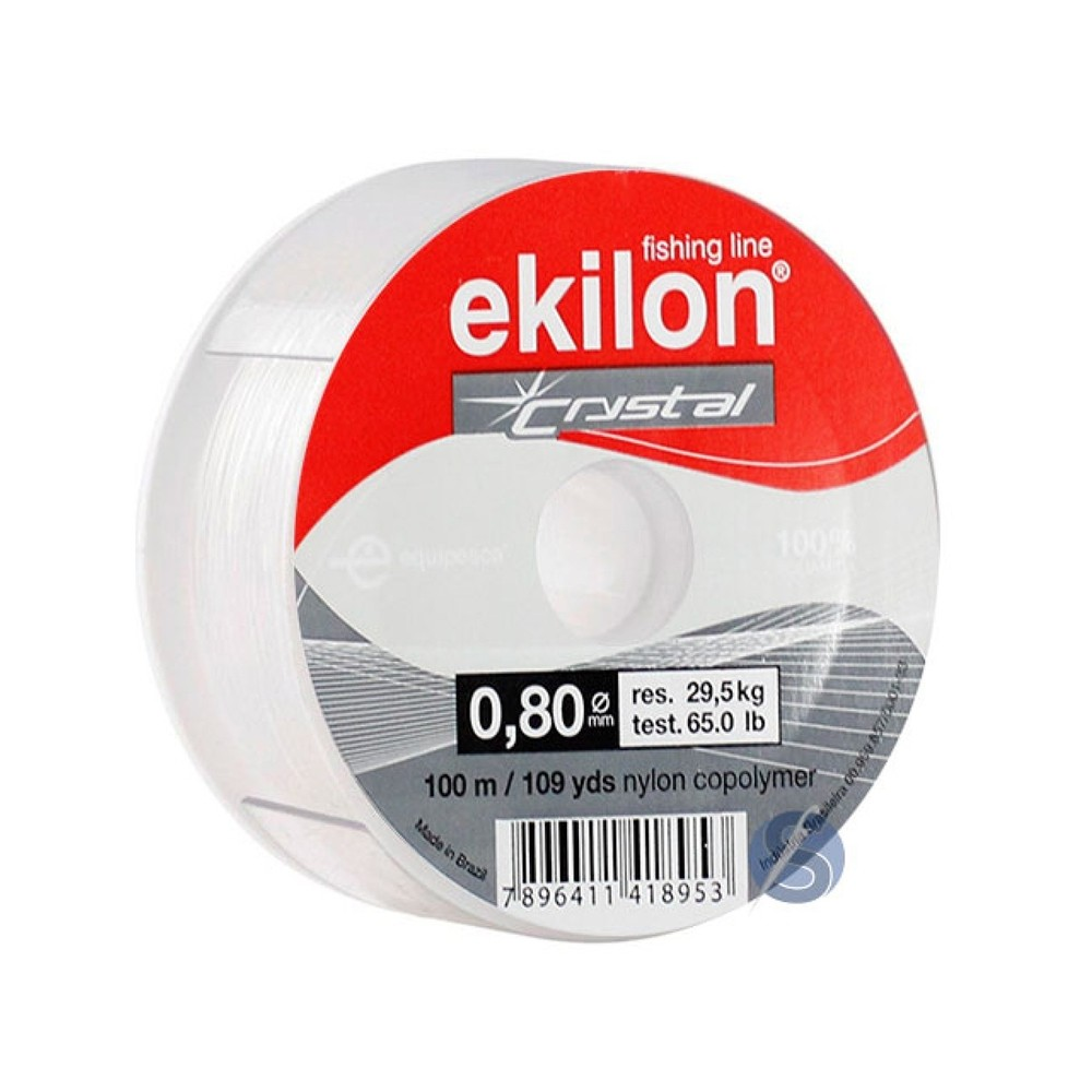 Linha de Nylon Ekilon 0,80mm