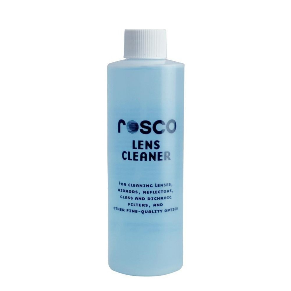 Líquido Limpa Lentes Lens Cleaner Rosco 473ml  - Casa do Roadie