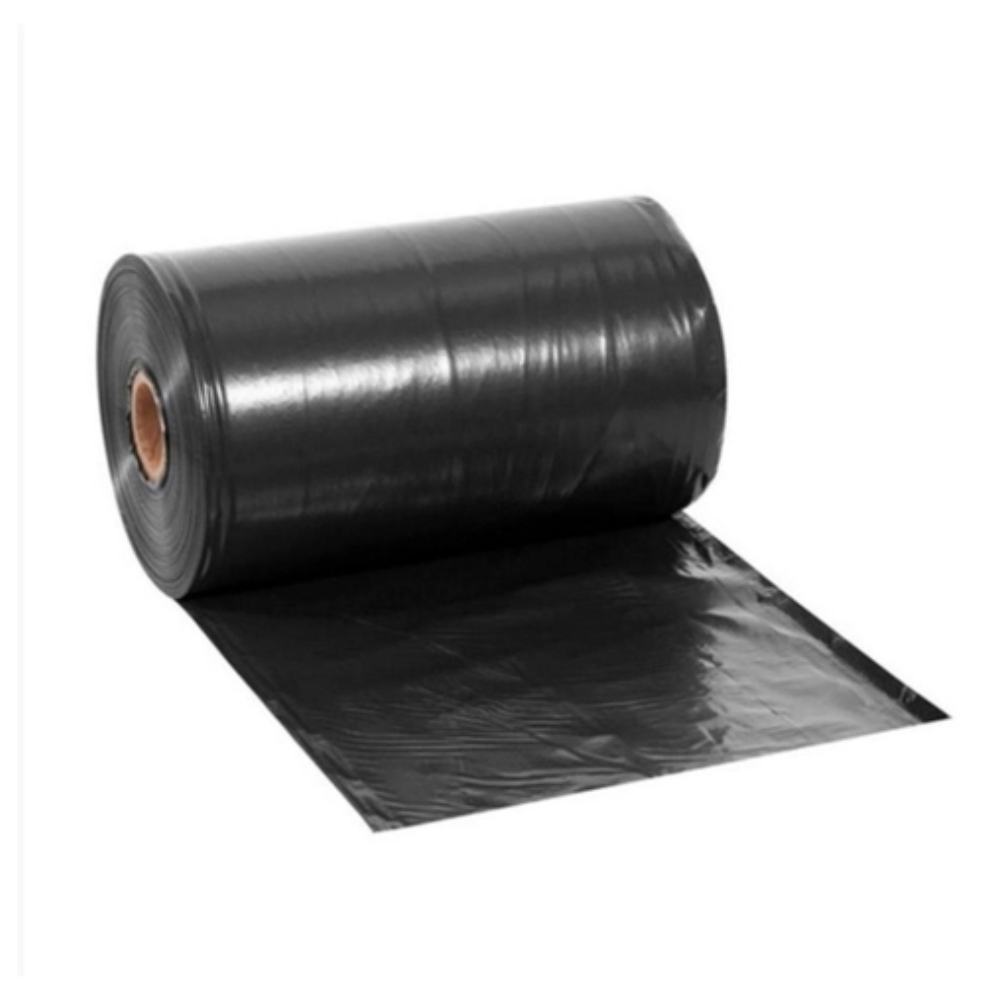 Lona Plástica Fina Preta 4m X 100m - Rolo 13KG  - Casa do Roadie
