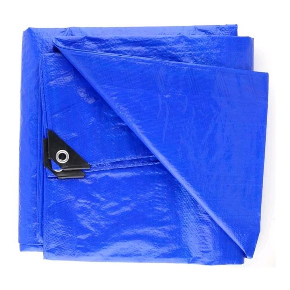 Lona Plástica Média 2m X 2m Azul Starfer