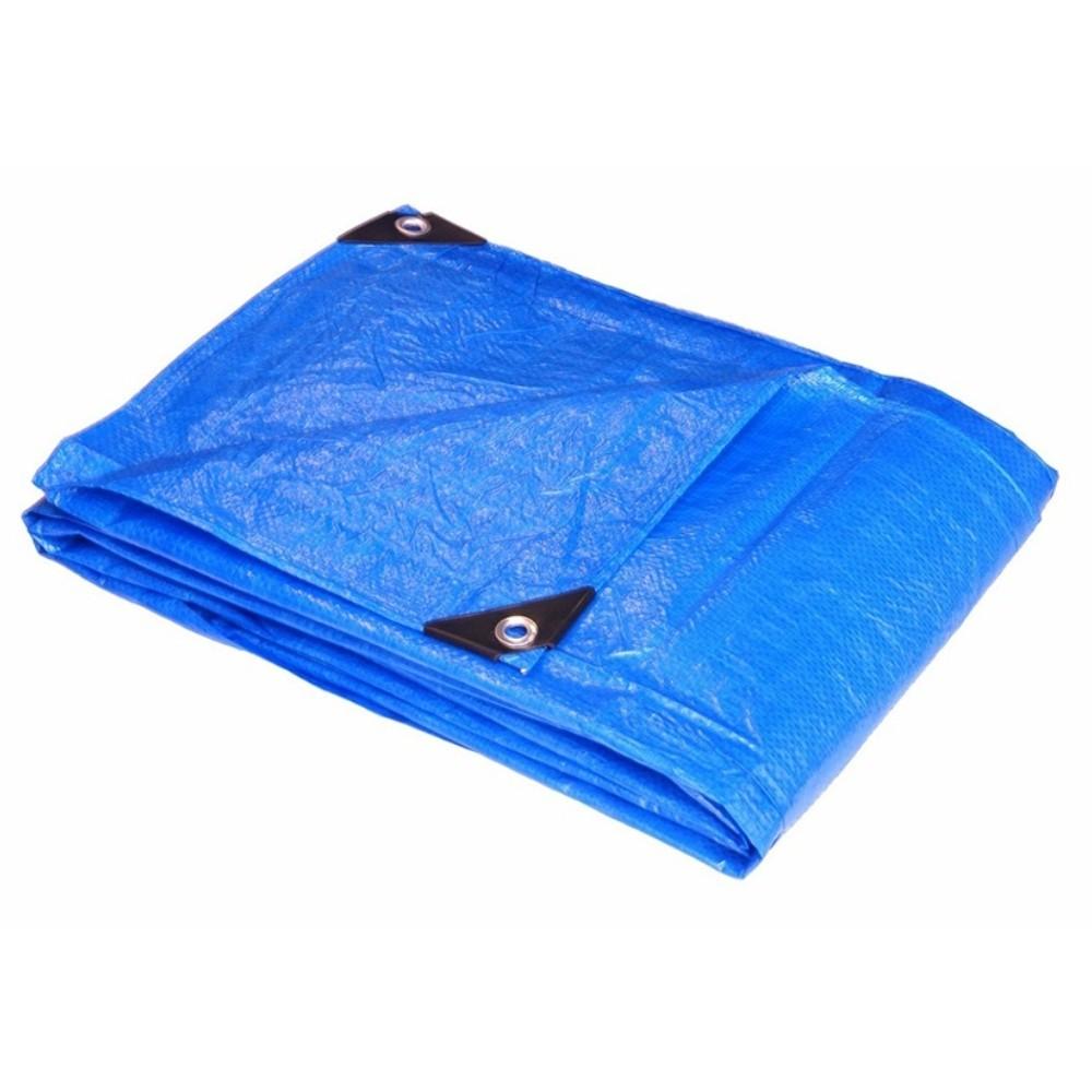 Lona Plástica Média 4m X 4m Azul Starfer
