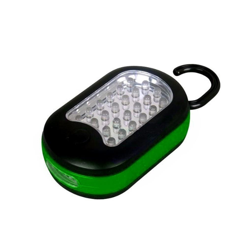 Luminária com Gancho e Imã Alfacell Verde
