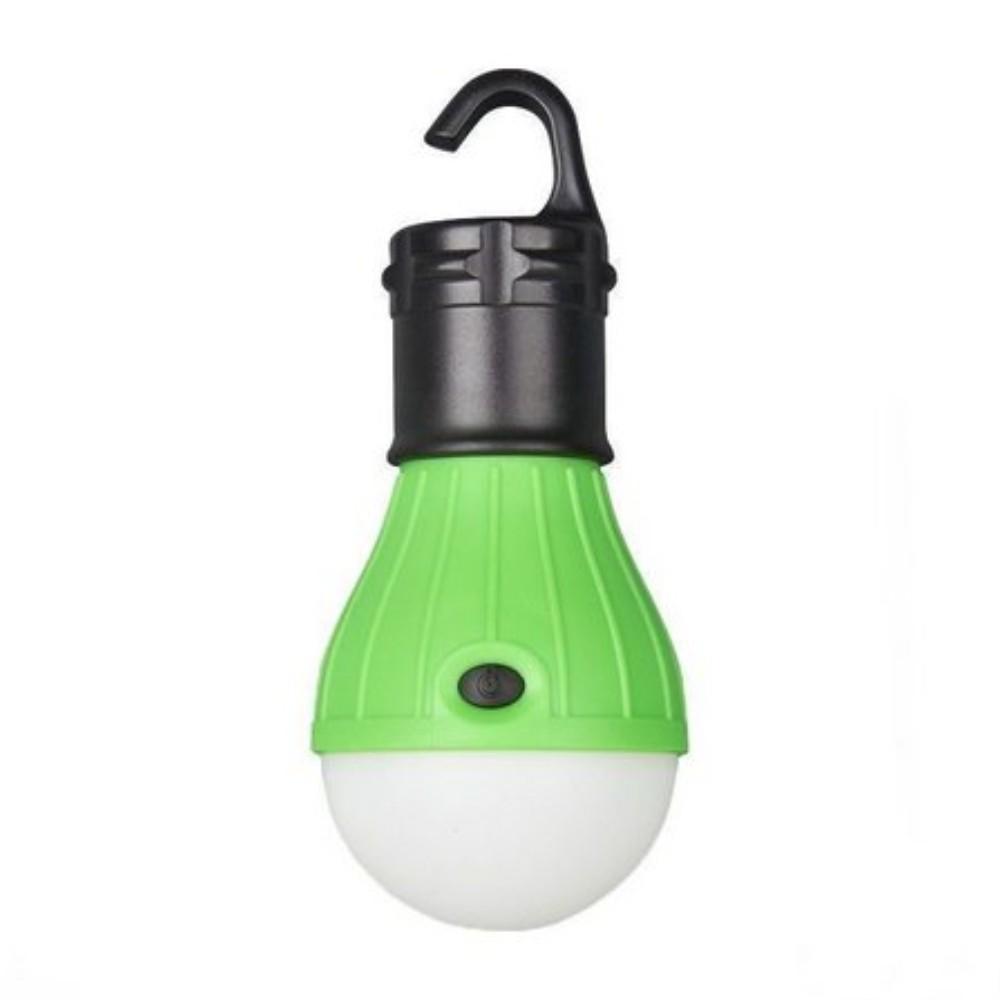 Luminária LED Lâmpada com Gancho Verde