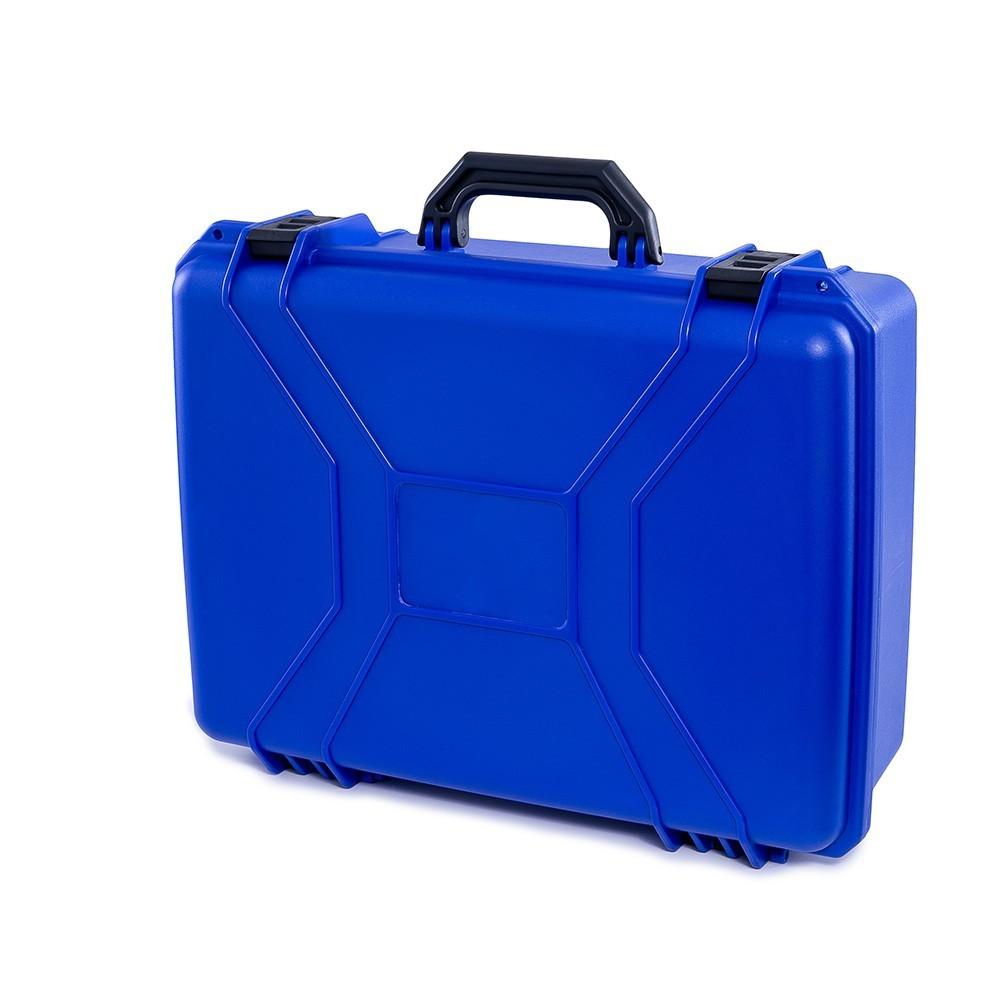 Maleta Plástica Grande Azul