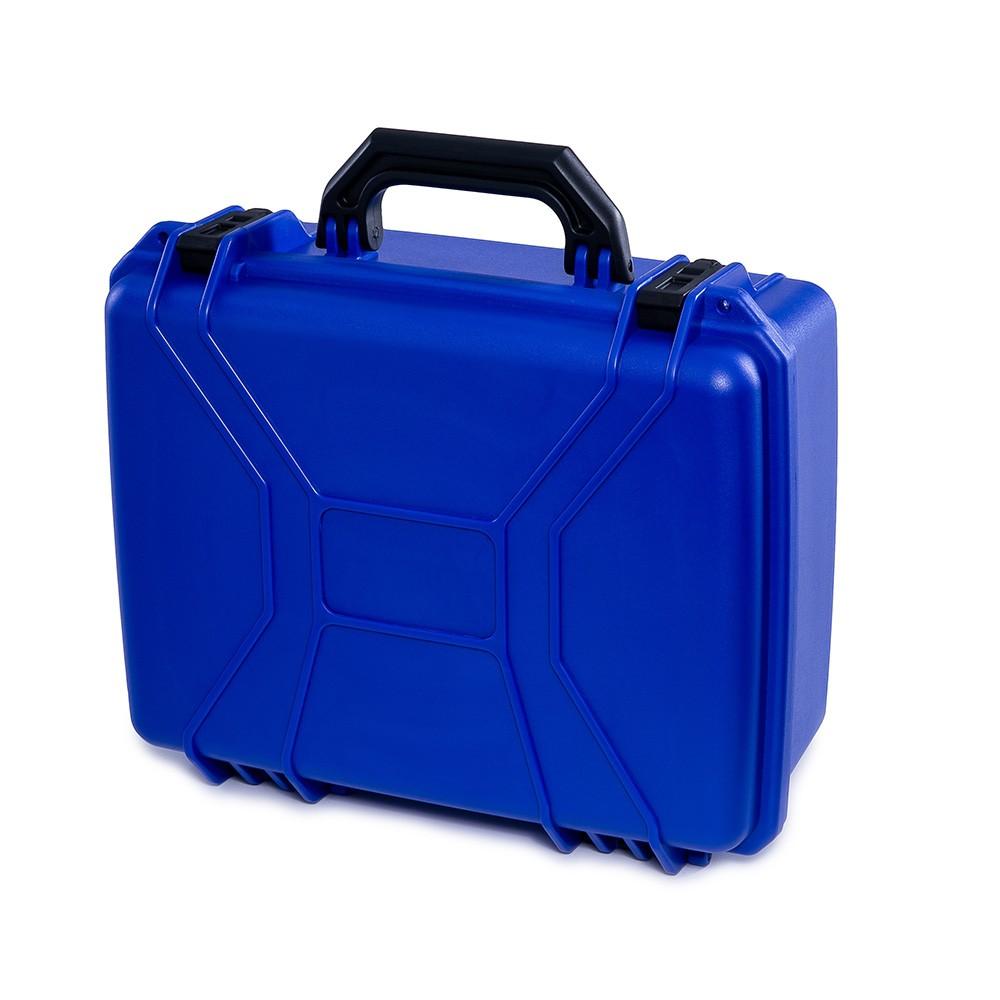 Maleta Plástica Média Azul  - Casa do Roadie