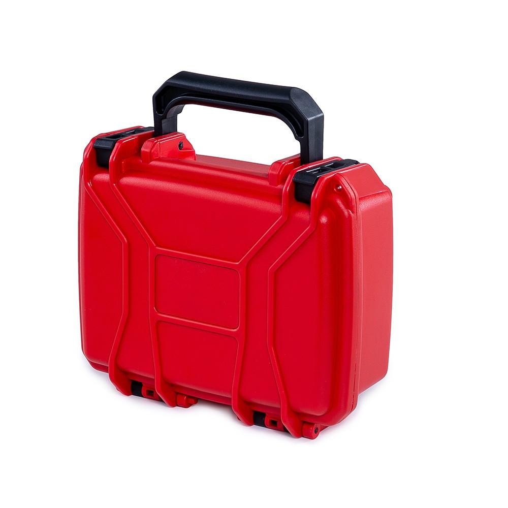 Maleta Plástica Mini Vermelha  - Casa do Roadie