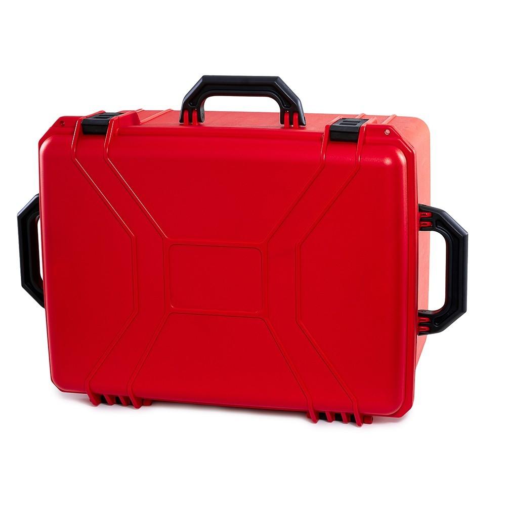 Maleta Plástica Tanque Vermelha