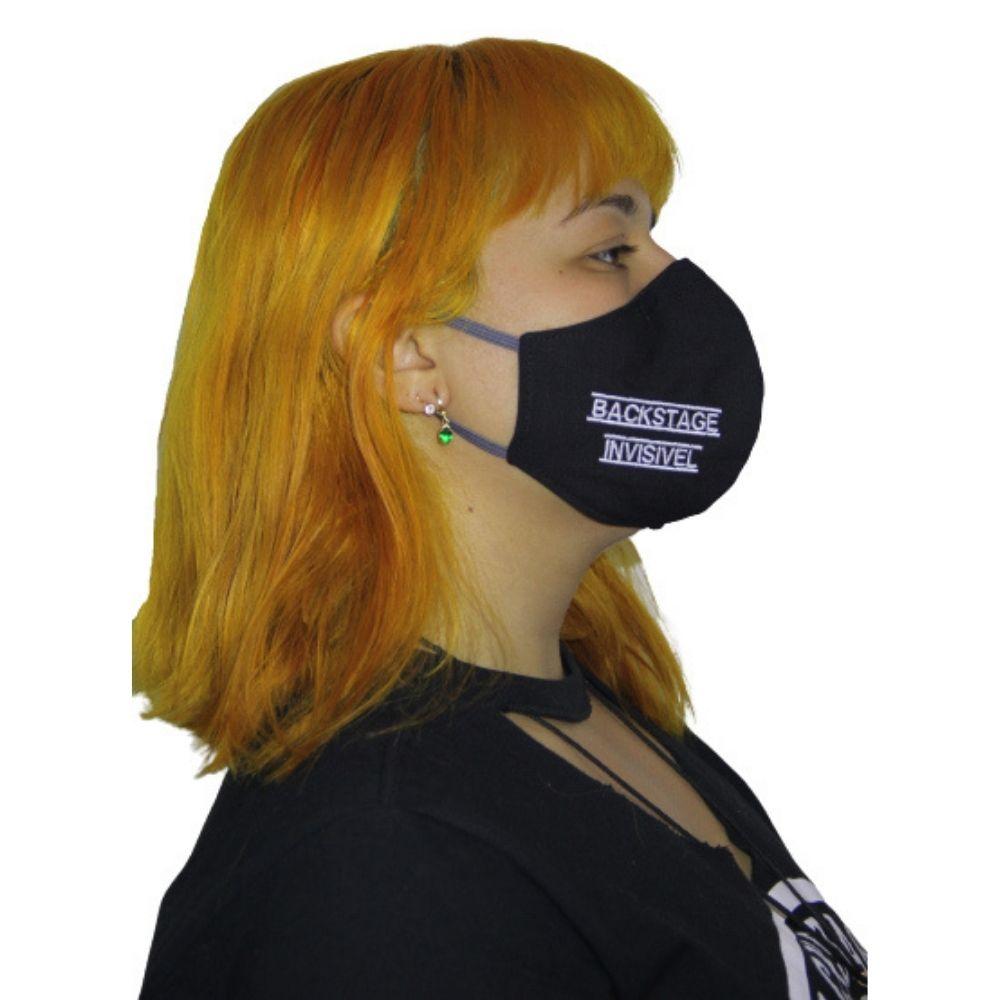 Máscara Backstage Invisível M - By Graxos