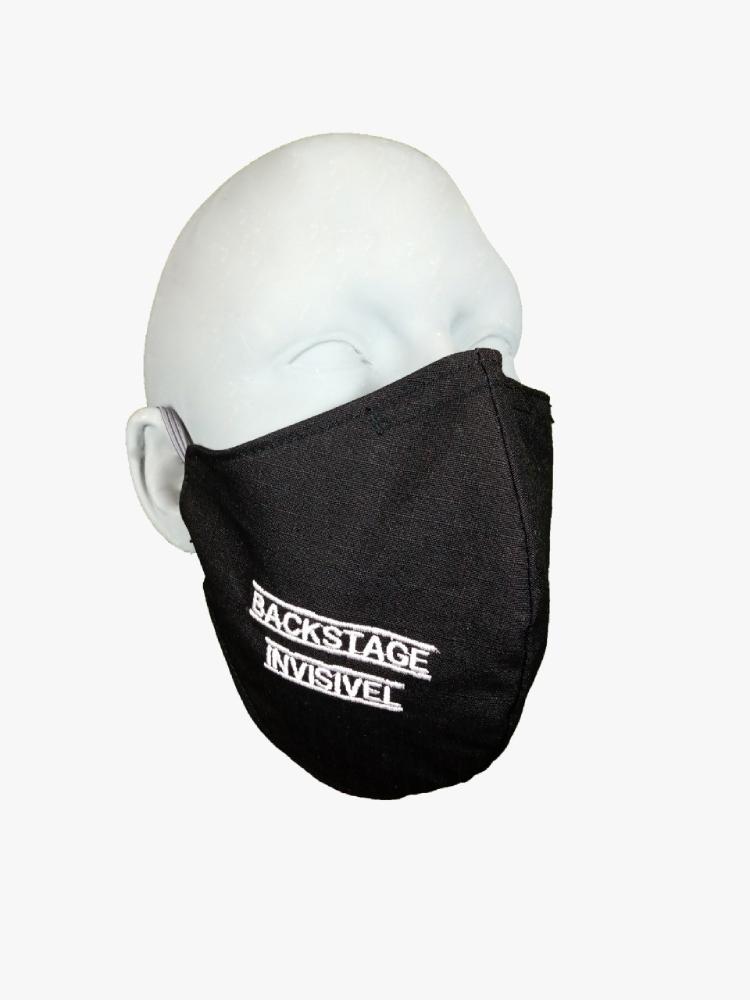 Máscara Backstage Invisível M - By Graxos  - Casa do Roadie