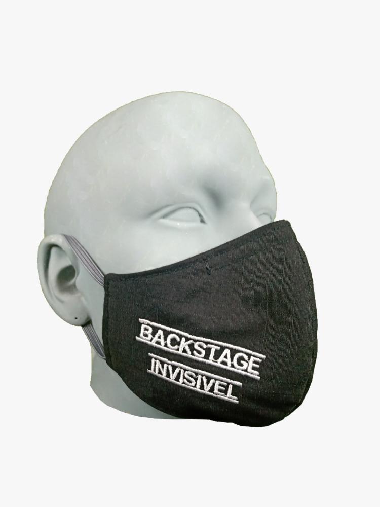 Máscara Backstage Invisível para Barbudo GG - By Graxos  - Casa do Roadie
