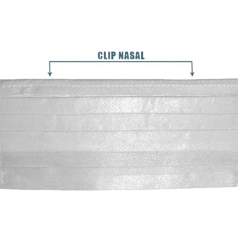 Máscara TNT retangular simples camada dupla - 10 unidades  - Casa do Roadie