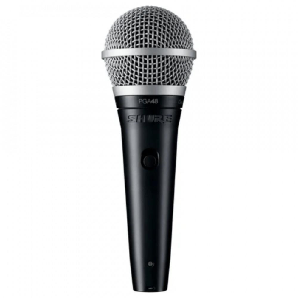 Microfone Vocal PGA48 LC Shure Preto