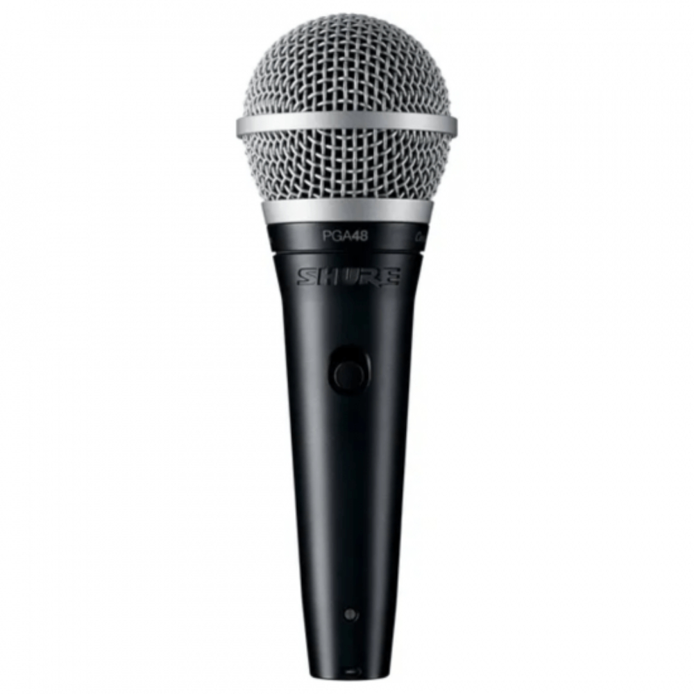 Microfone Vocal PGA48 LC Shure Preto  - Casa do Roadie