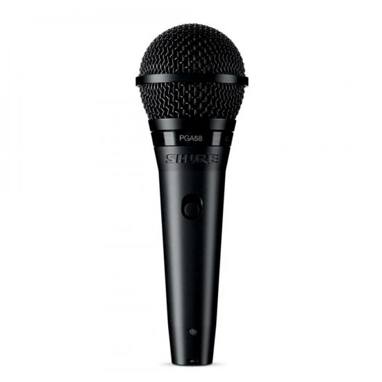 Microfone Vocal PGA58 LC Shure Preto