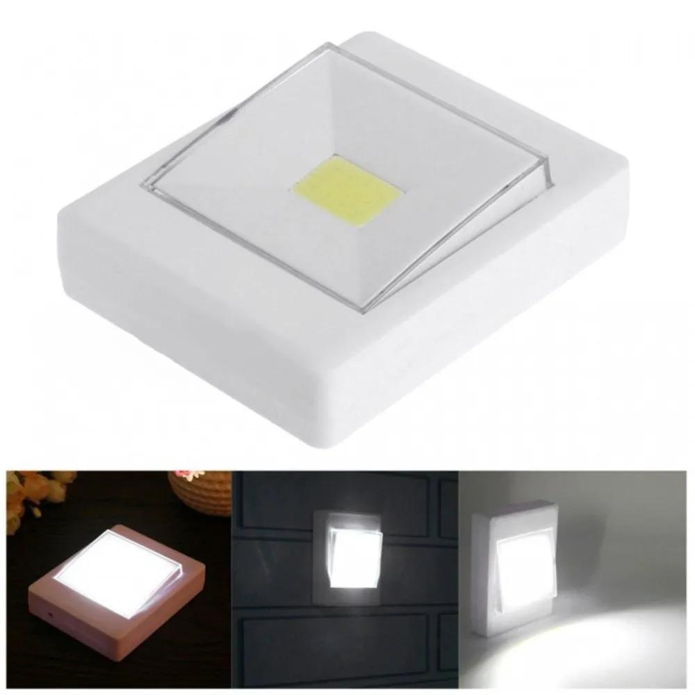 Mini Luminária Quadrada LED de Botão 2W  - Casa do Roadie