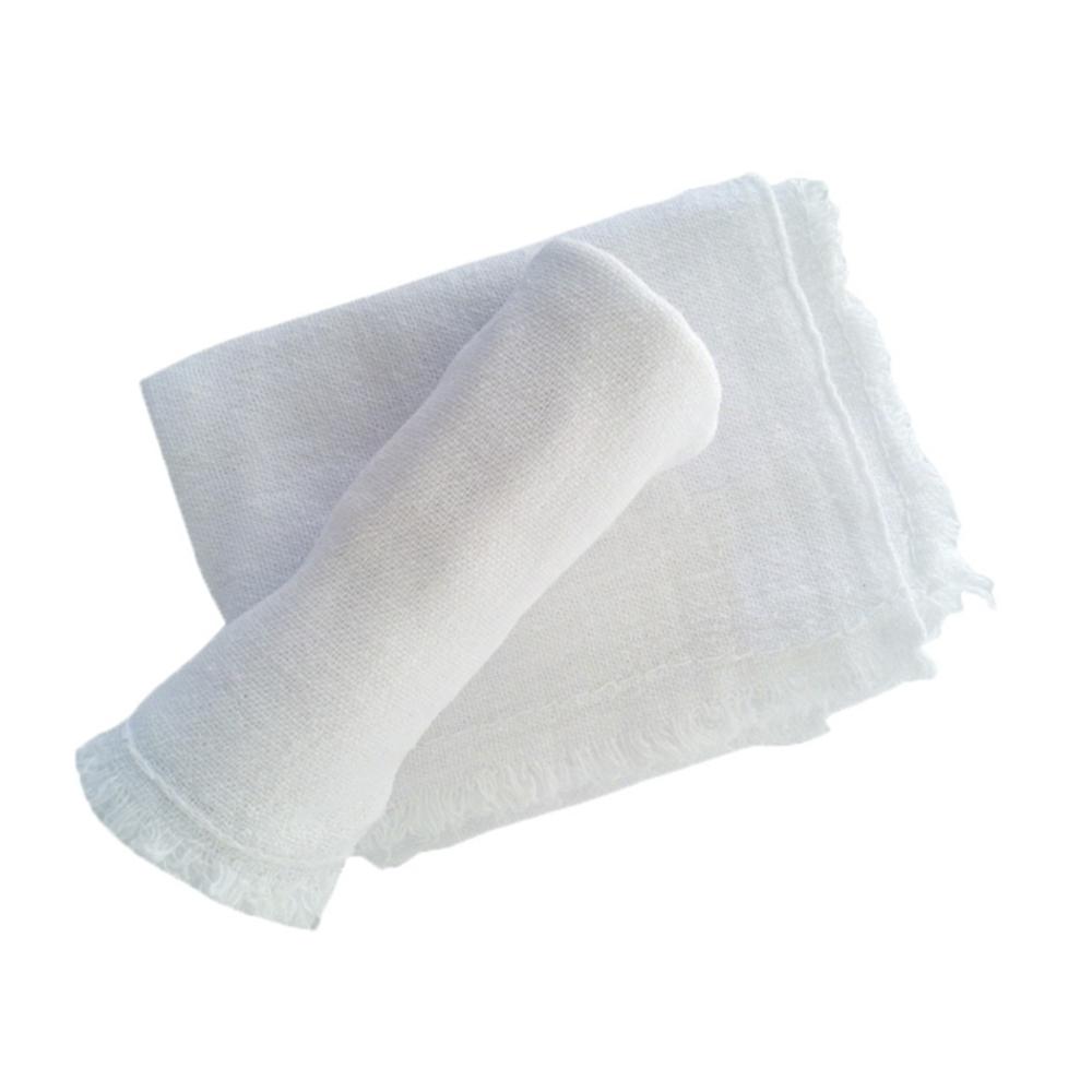 Pano de Chão Alvejado Tipo Saco Branco 40cm x 65cm