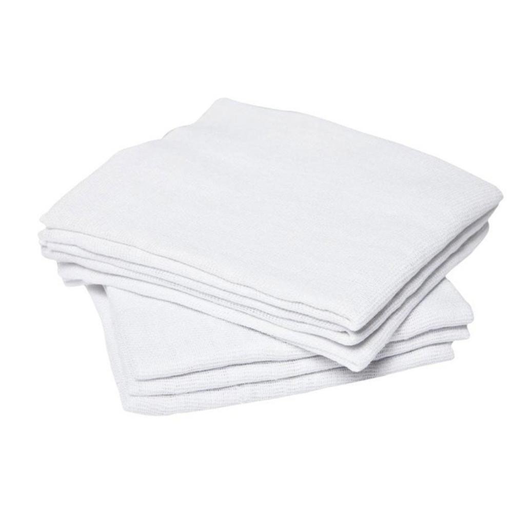 Pano de Chão Alvejado Tipo Saco Branco 40cm x 65cm  - Casa do Roadie