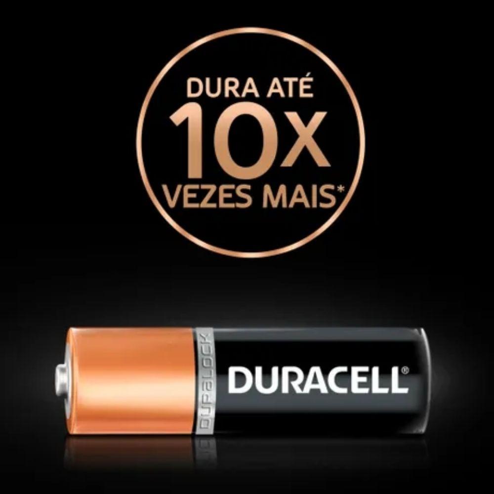 Pilha Alcalina AA Duracell - 16 unidades  - Casa do Roadie