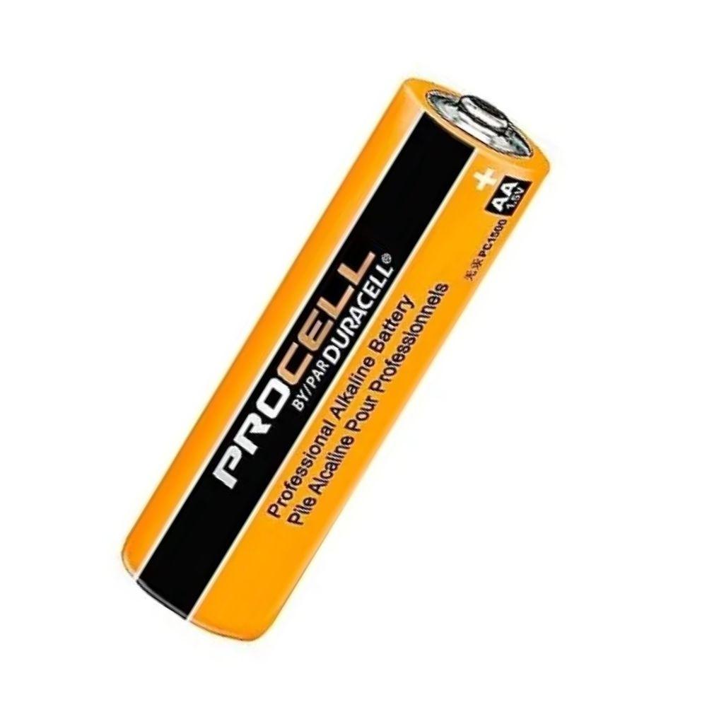 Pilha Alcalina AA Duracell Procell - Kit com 4  - Casa do Roadie