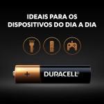 Pilha Alcalina AAA Duracell - 16 unidades  - Casa do Roadie