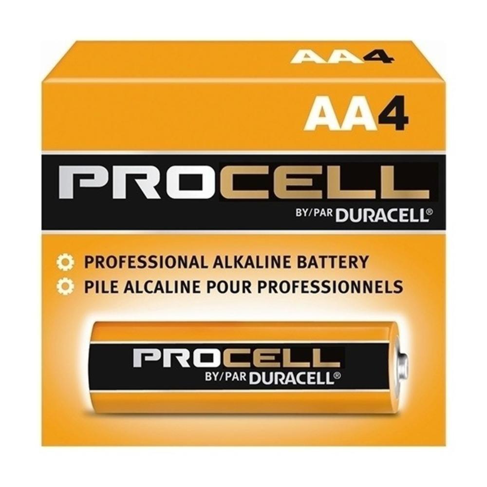 Pilha Alcalina Duracell Procell AA - Kit com 144  - Casa do Roadie