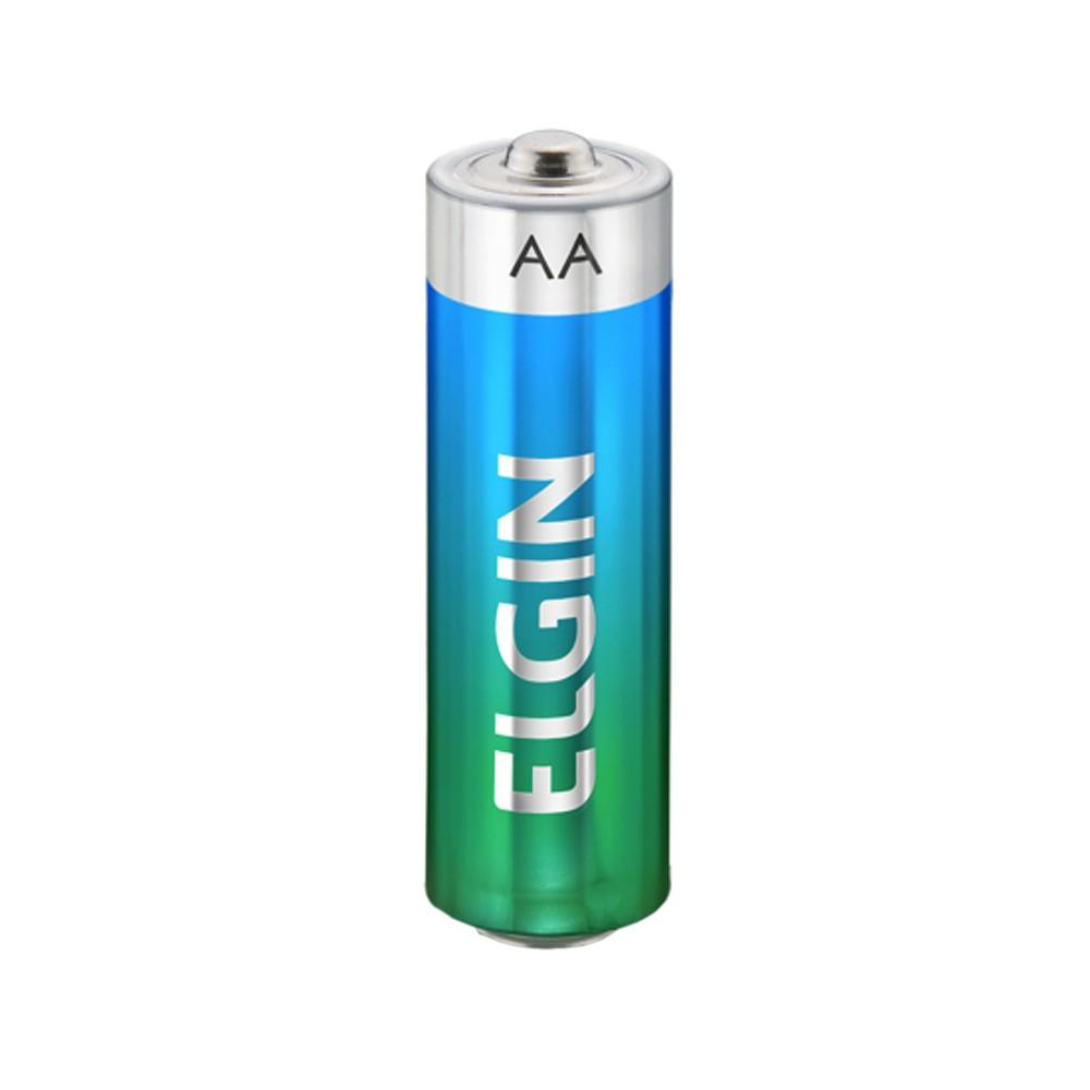 Pilha Alcalina Elgin AA - 2 Unidades