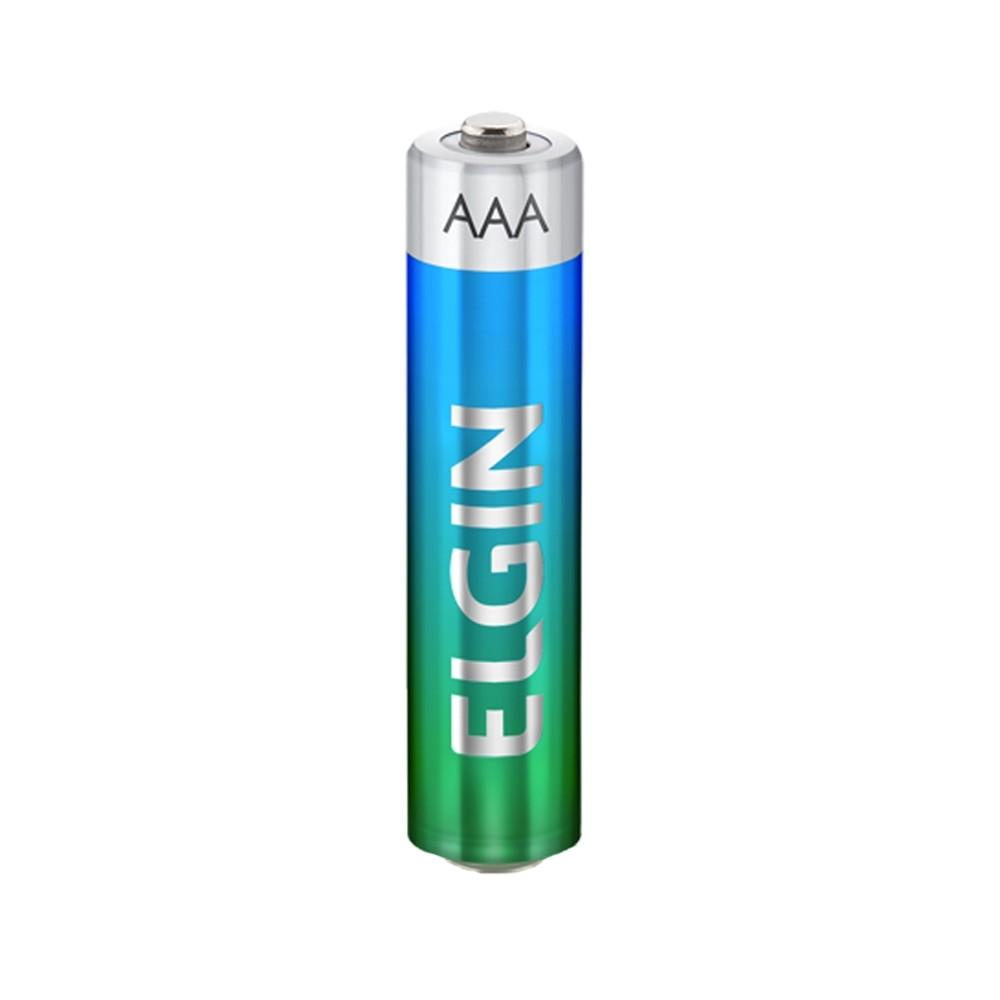 Pilha Alcalina Elgin AAA - 2 Unidades