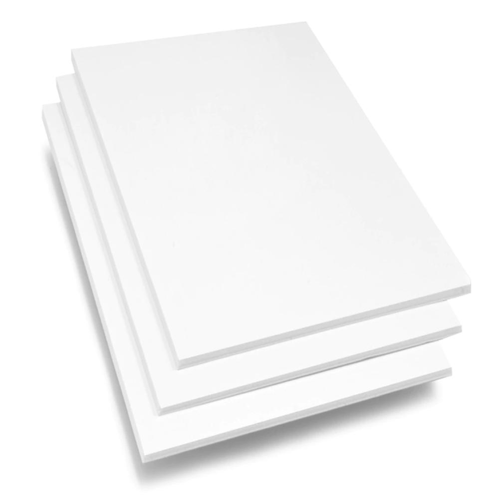 Placa de Espuma Foam Board 80cm X 1m Branca  - Casa do Roadie