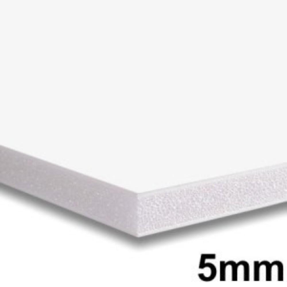 Placa de Espuma Foam Board 80cm X 1m Branco
