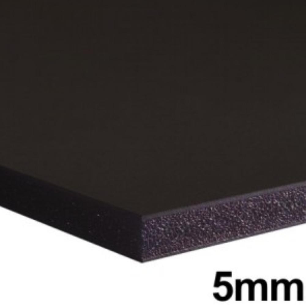 Placa de Espuma Foam Board 80cm X 1m Preta