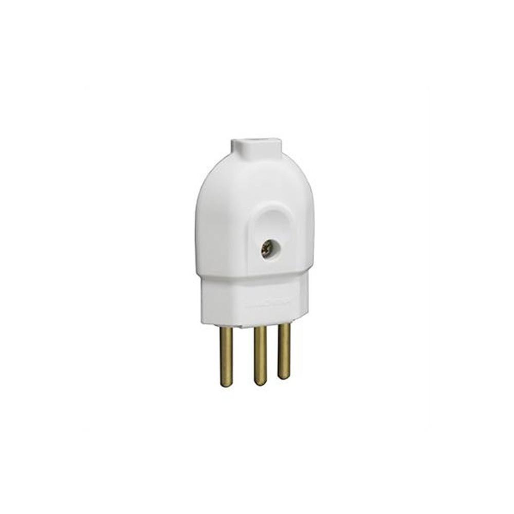 Plug Macho 2P + T 20A Ilumi Cinza
