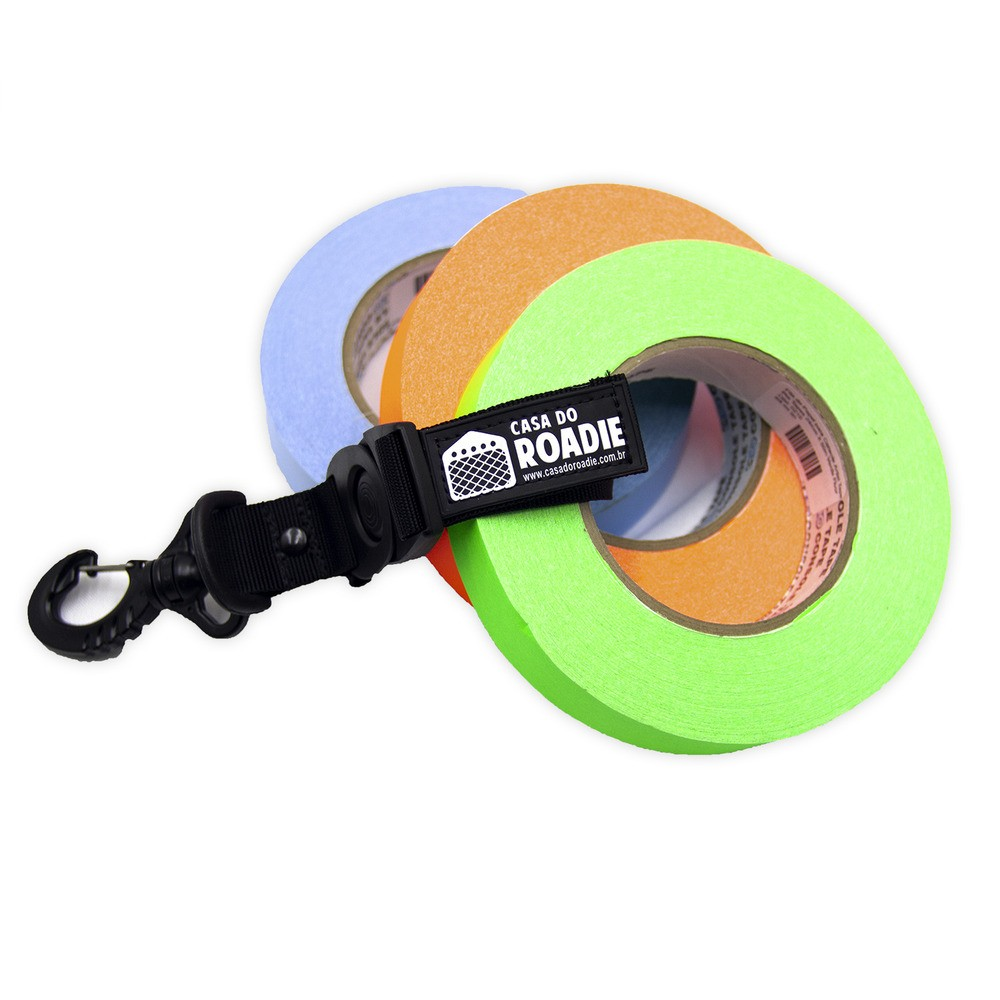 Porta Fita Tape Holder Preta P