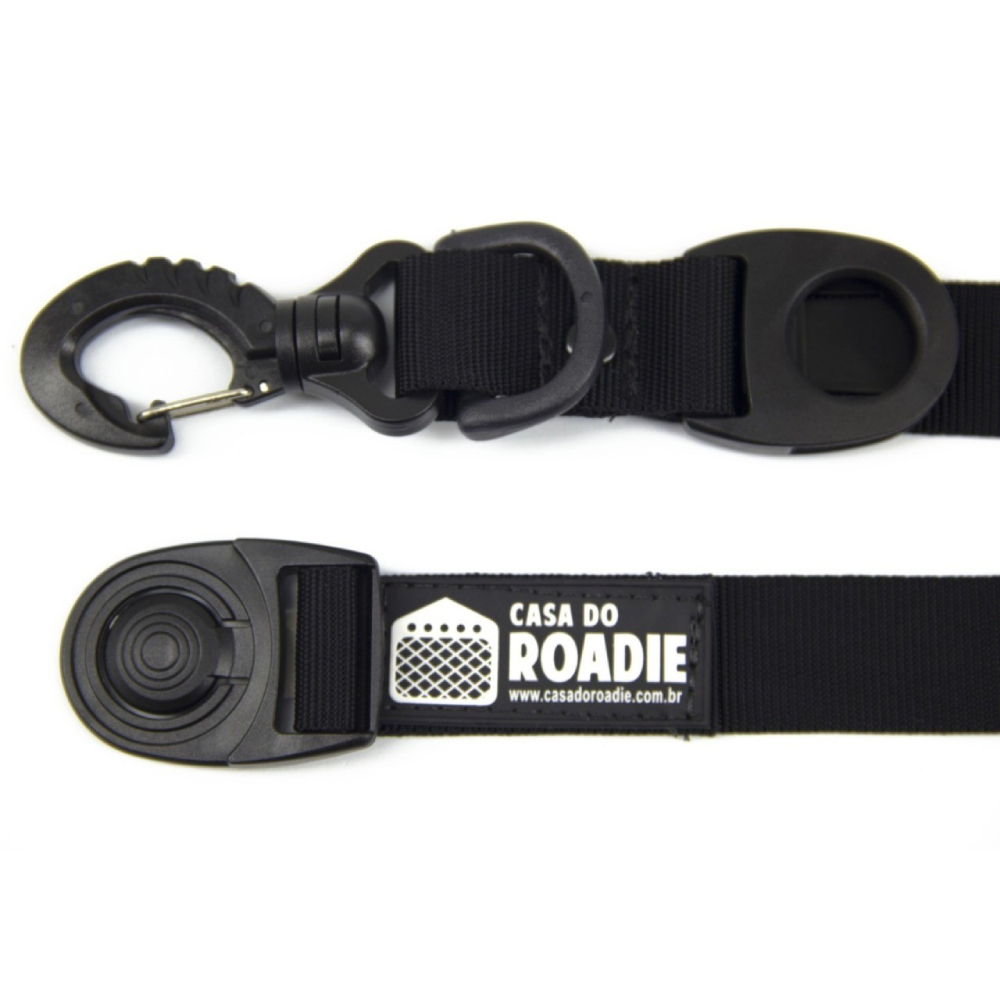 Porta Fita Tape Holder Preto G  - Casa do Roadie
