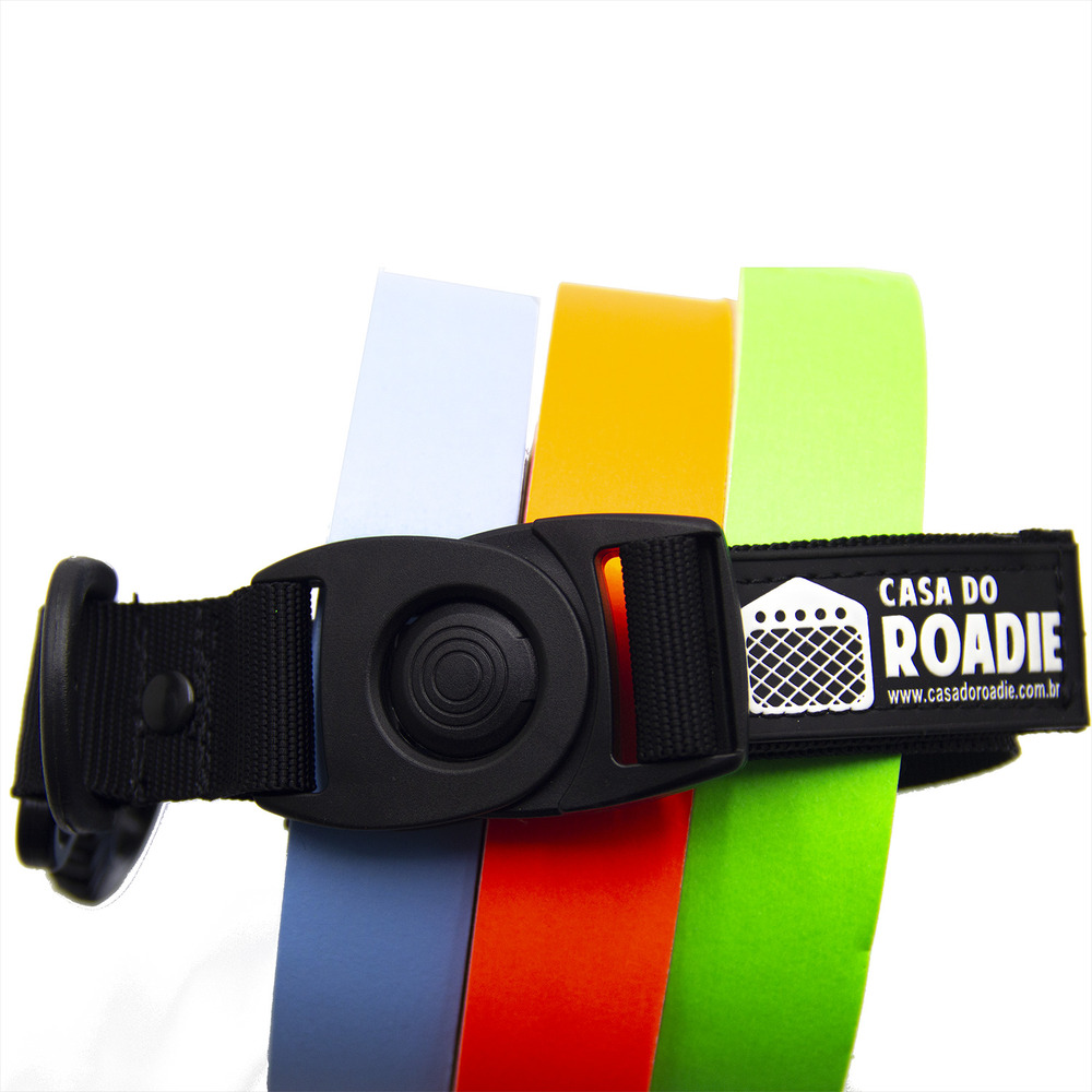 Porta Fita Tape Holder Preto P  - Casa do Roadie