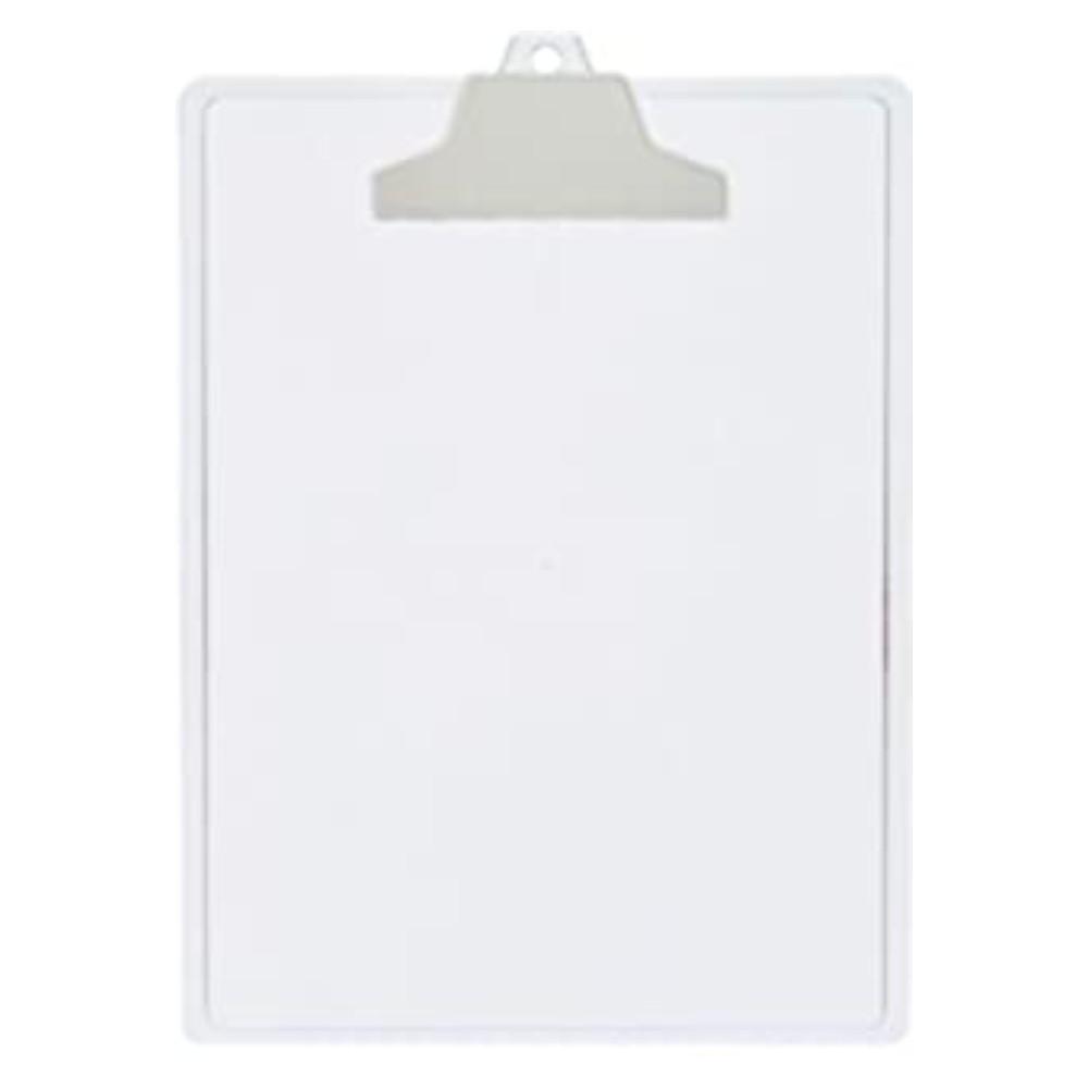 Prancheta Plástica para Folhas A4 Transparente