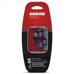 Protetor de Espuma para Fone EASFX1-10L Shure Cinza Grande 10 Unidades