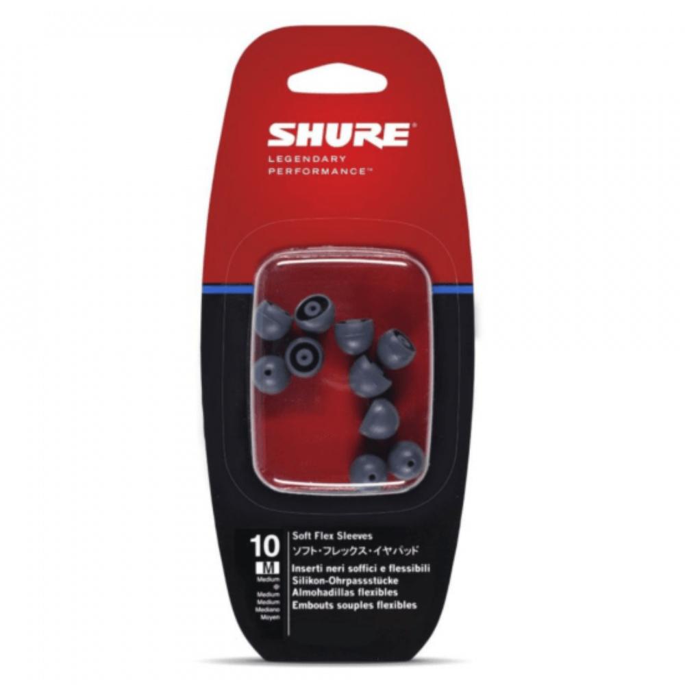 Protetor de Espuma para Fone EASFX1-10M Shure Cinza Médio 10 Unidades