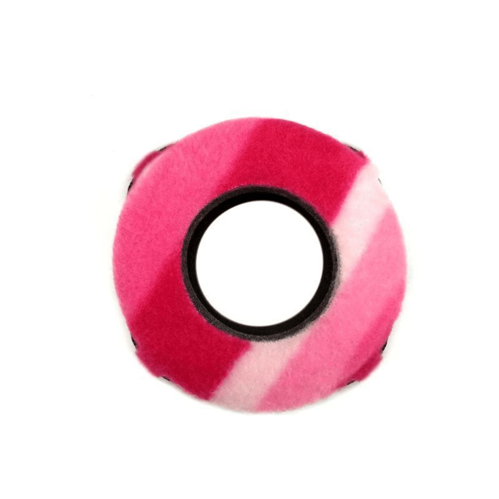 Protetor Ocular Eyecushion Especial Red Cam Bluestar Fleece Listrado Rosa  - Casa do Roadie