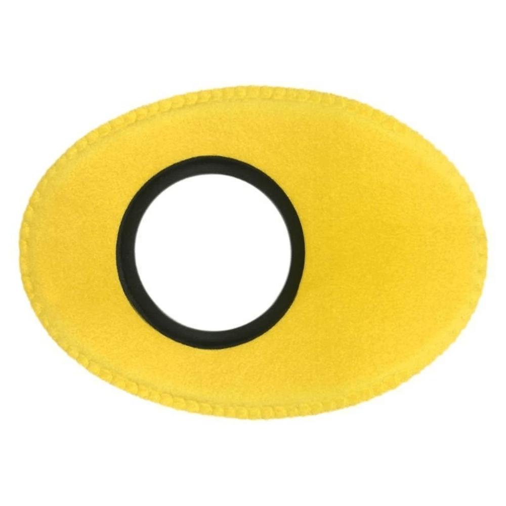 Protetor Ocular Eyecushion Oval Extra Largo Bluestar Ultrasuede Amarelo