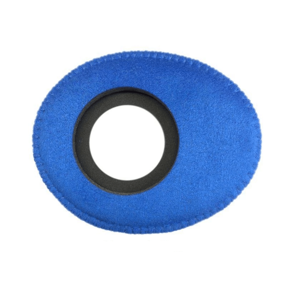 Protetor Ocular Eyecushion Oval Largo Bluestar Ultrasuede Azul  - Casa do Roadie