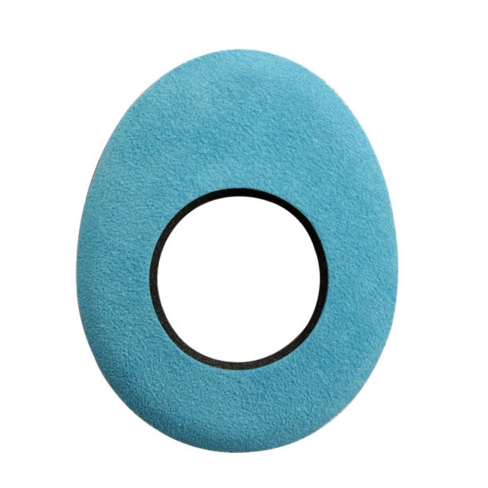 Protetor Ocular Eyecushion Oval Largo Bluestar Ultrasuede Azul