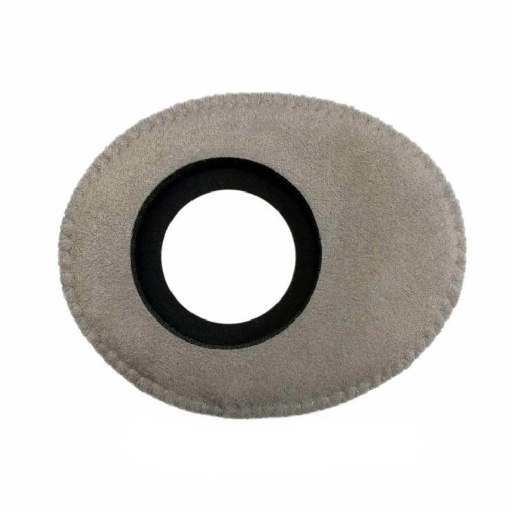 Protetor Ocular Eyecushion Oval Largo Bluestar Ultrasuede Cinza  - Casa do Roadie