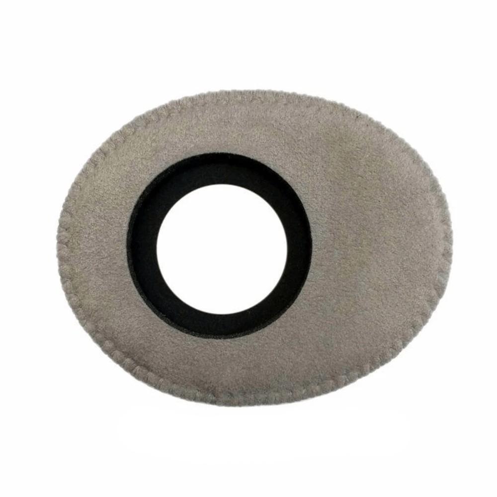 Protetor Ocular Eyecushion Oval Largo Bluestar Ultrasuede Cinza