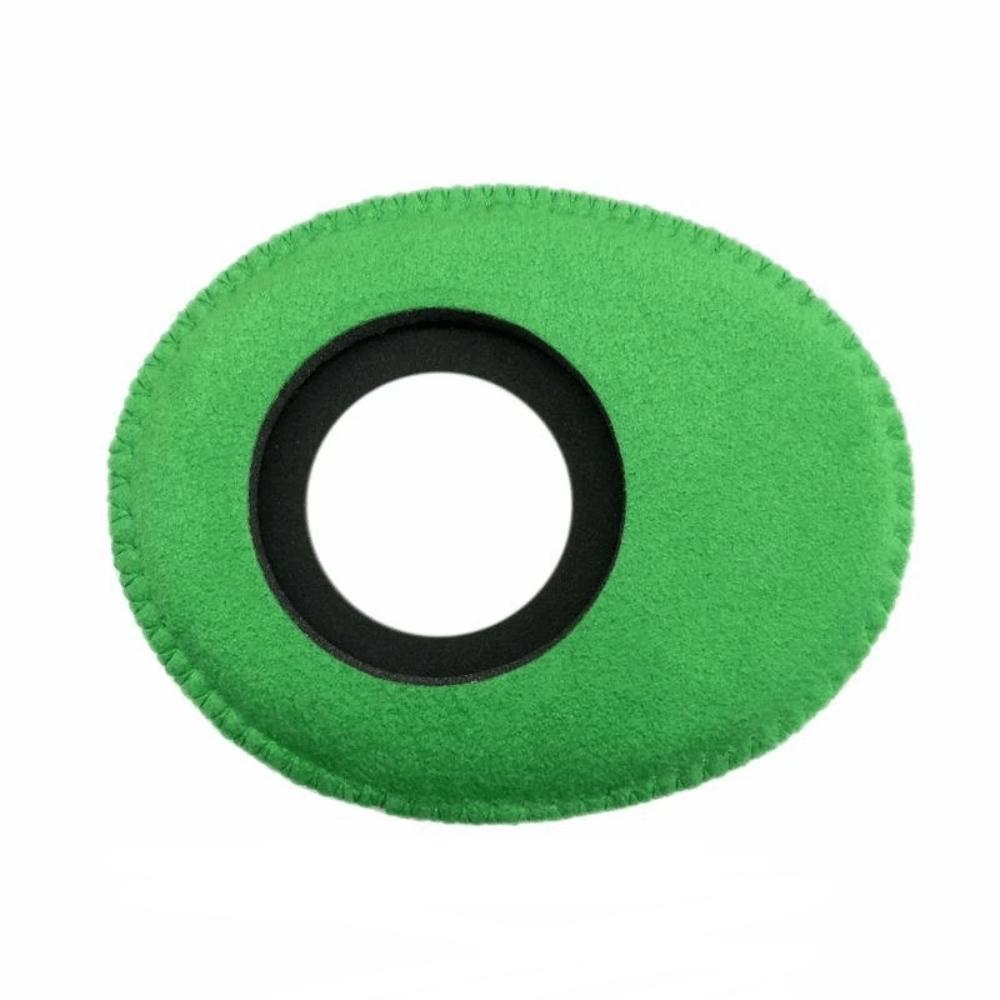 Protetor Ocular Eyecushion Oval Largo Bluestar Ultrasuede Verde  - Casa do Roadie