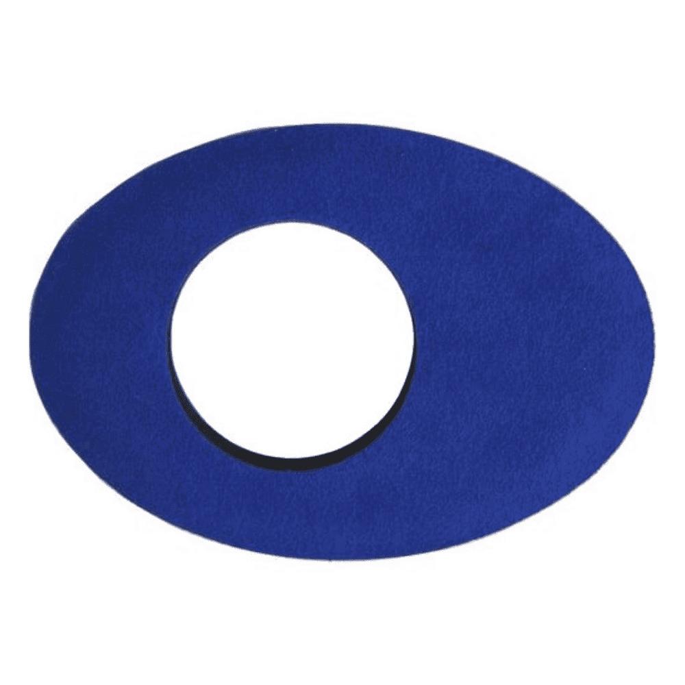 Protetor Ocular Eyecushion Oval Longo Bluestar Ultrasuede Azul  - Casa do Roadie