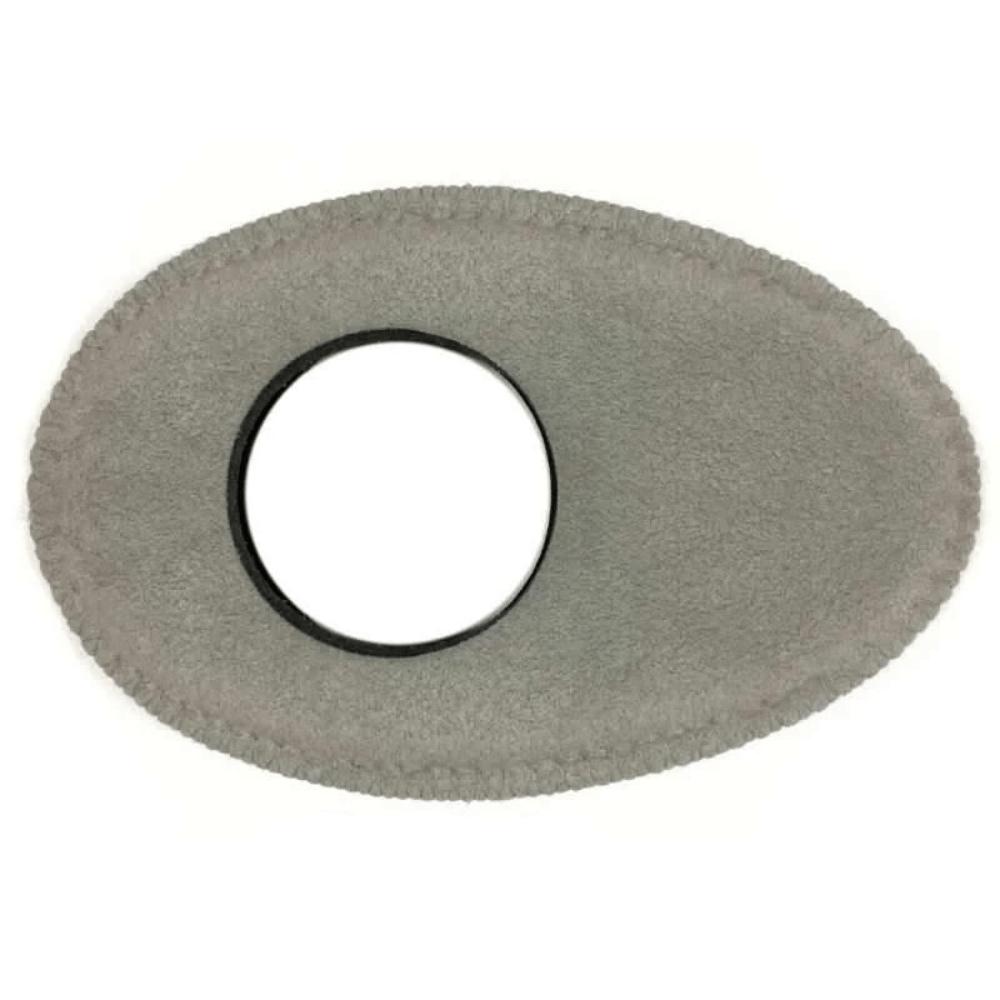 Protetor Ocular Eyecushion Oval Longo Bluestar Ultrasuede Cinza  - Casa do Roadie