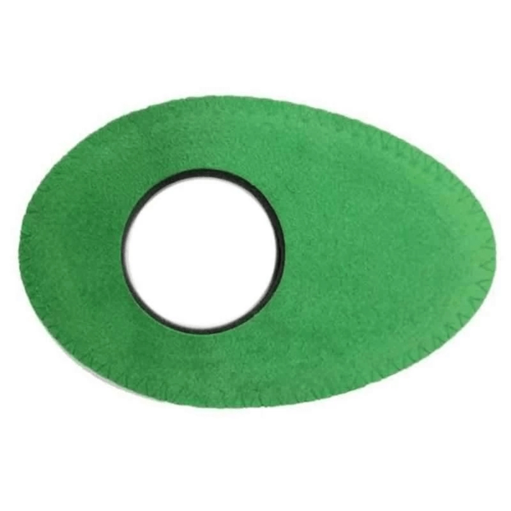 Protetor Ocular Eyecushion Oval Longo Bluestar Ultrasuede Verde  - Casa do Roadie