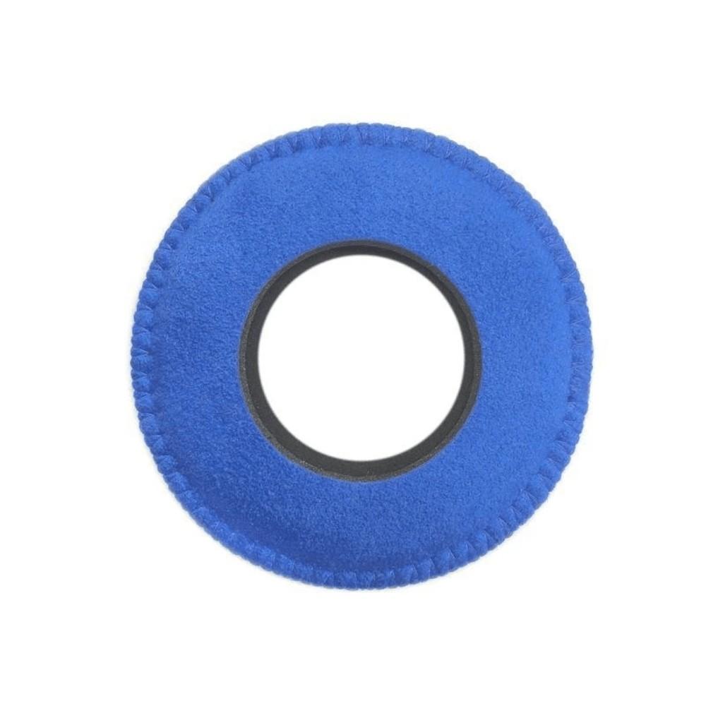 Protetor Ocular Eyecushion Redondo Extra Largo Bluestar Ultrasuede Azul