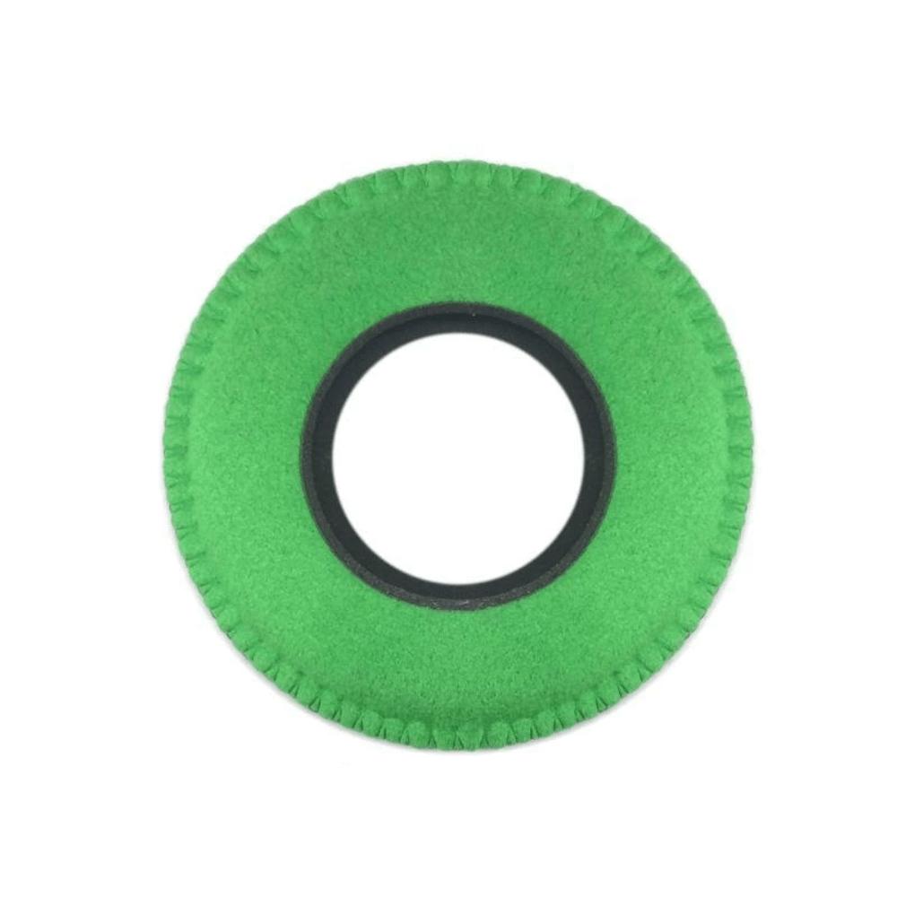 Protetor Ocular Eyecushion Redondo Extra Largo Bluestar Ultrasuede Verde